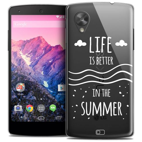 Coque Crystal Nexus 5 Extra Fine Summer - Life's Better