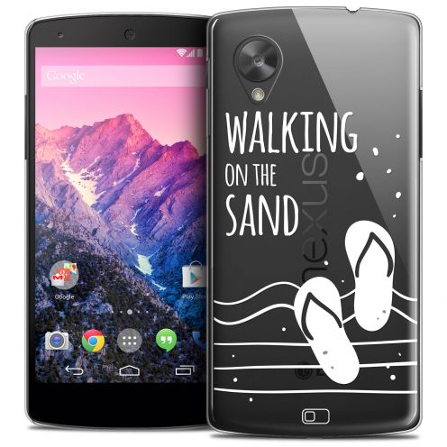 Coque Crystal Nexus 5 Extra Fine Summer - Walking on the Sand