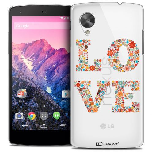 Coque Crystal Nexus 5 Extra Fine Summer - Love Flowers