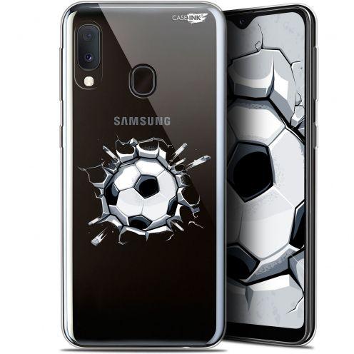 """Coque Gel Samsung Galaxy A20E (5.8"""") Extra Fine Motif - Le Balon de Foot"""