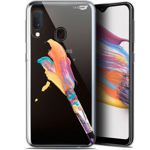 """Coque Gel Samsung Galaxy A20E (5.8"""") Extra Fine Motif -  Pinceau de Peinture"""