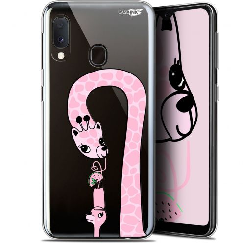 "Coque Gel Samsung Galaxy A20E (5.8"") Extra Fine Motif -  Summer Giraffe"