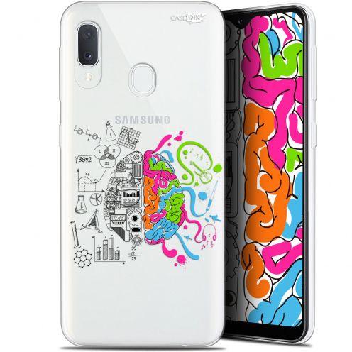 """Coque Gel Samsung Galaxy A20E (5.8"""") Extra Fine Motif -  Le Cerveau"""