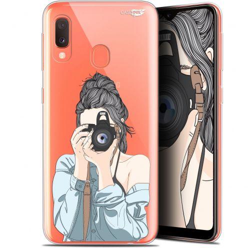 "Coque Gel Samsung Galaxy A20E (5.8"") Extra Fine Motif -  La Photographe"