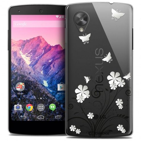 Coque Crystal Nexus 5 Extra Fine Summer - Papillons