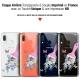 "Coque Gel Samsung Galaxy A20E (5.8"") Extra Fine Motif -  Pinceau à Fleurs"