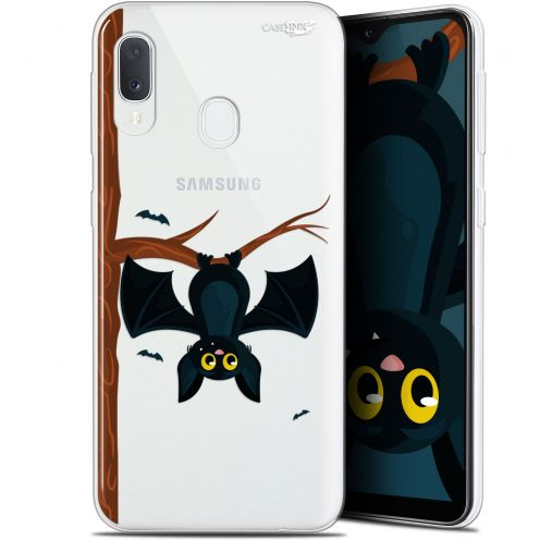 """Coque Gel Samsung Galaxy A20E (5.8"""") Extra Fine Motif -  Petite Chauve Souris"""