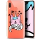 """Coque Gel Samsung Galaxy A20E (5.8"""") Extra Fine Motif -  I Am MEOUgical"""