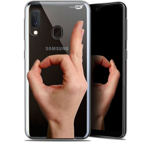 "Coque Gel Samsung Galaxy A20E (5.8"") Extra Fine Motif -  Le Jeu du Rond"