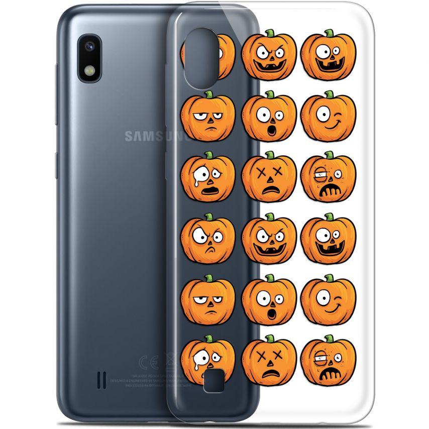 "Coque Gel Samsung Galaxy A10 (6.2"") Extra Fine Halloween - Cartoon Citrouille"