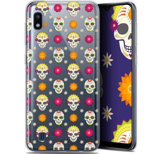 "Coque Gel Samsung Galaxy A10 (6.2"") Extra Fine Halloween - Skull Halloween"