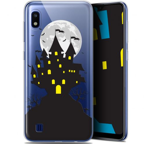 "Coque Gel Samsung Galaxy A10 (6.2"") Extra Fine Halloween - Castle Scream"