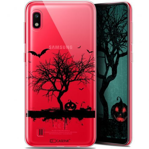 "Coque Gel Samsung Galaxy A10 (6.2"") Extra Fine Halloween - Devil's Tree"