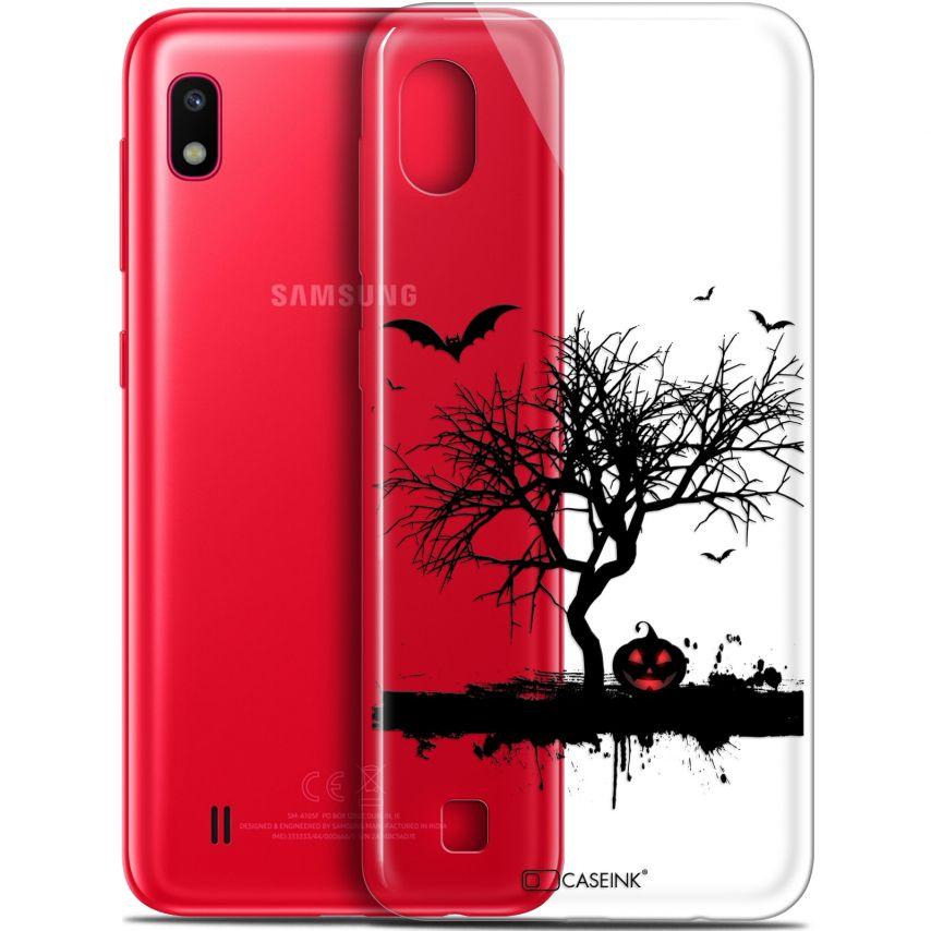 "Coque Gel Samsung Galaxy A10 (6.2"") Extra Fine Halloween - Devil's Tree"
