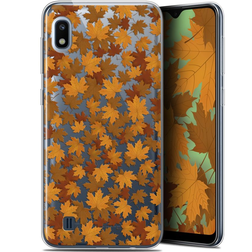 "Coque Gel Samsung Galaxy A10 (6.2"") Extra Fine Autumn 16 - Feuilles"