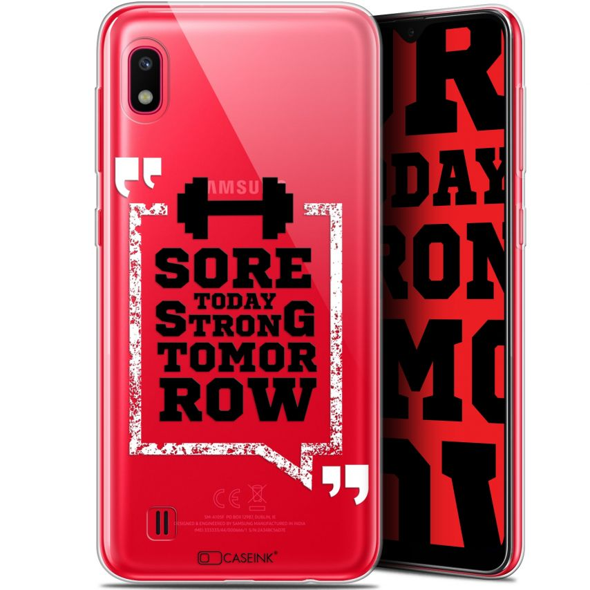 """Coque Gel Samsung Galaxy A10 (6.2"""") Extra Fine Quote - Strong Tomorrow"""