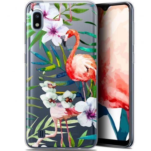 """Coque Gel Samsung Galaxy A10 (6.2"""") Extra Fine Watercolor - Tropical Flamingo"""