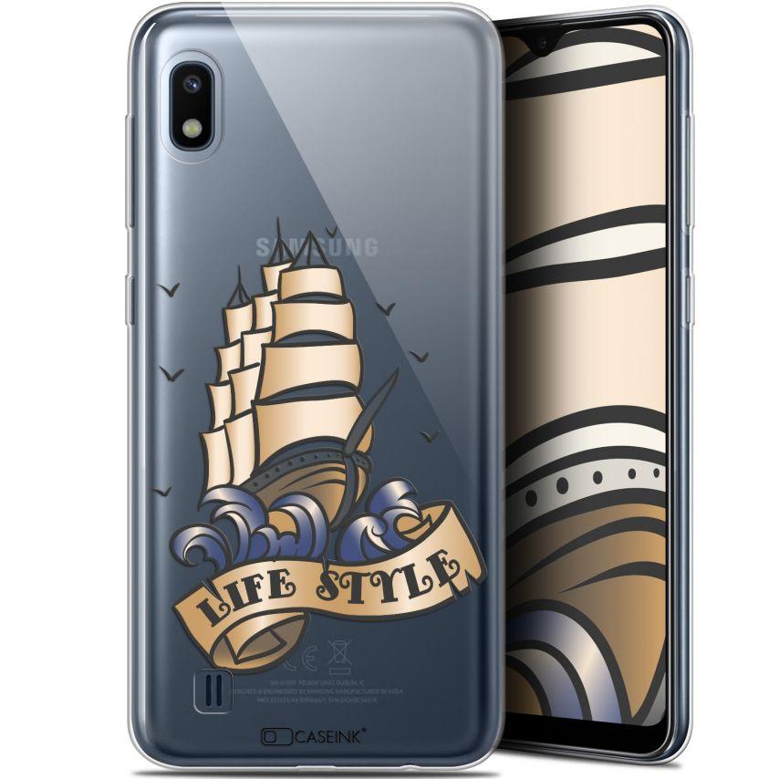 """Coque Gel Samsung Galaxy A10 (6.2"""") Extra Fine Tatoo Lover - Fashion"""