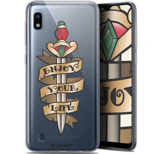 "Coque Gel Samsung Galaxy A10 (6.2"") Extra Fine Tatoo Lover - Enjoy Life"