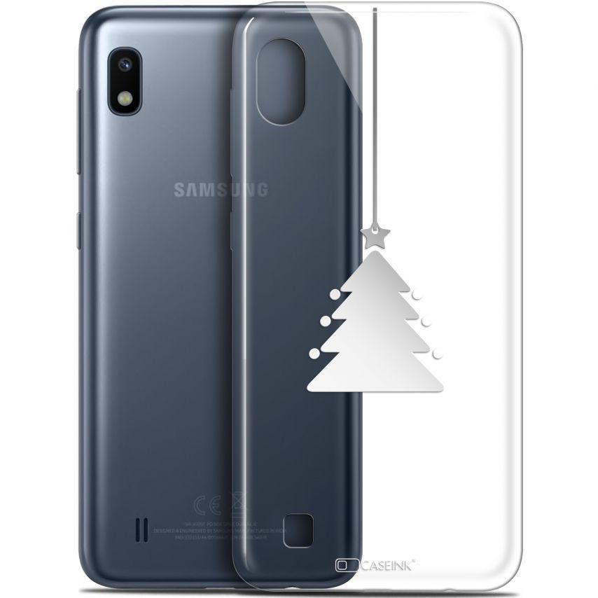 "Coque Gel Samsung Galaxy A10 (6.2"") Extra Fine Noël 2017 - Petit Arbre"