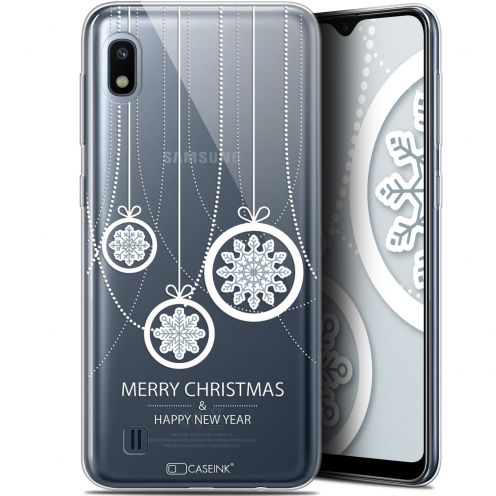 "Coque Gel Samsung Galaxy A10 (6.2"") Extra Fine Noël 2017 - Christmas Balls"
