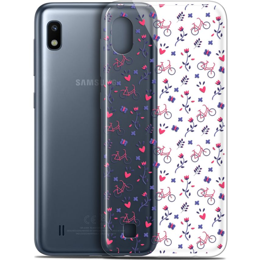 "Coque Gel Samsung Galaxy A10 (6.2"") Extra Fine Love - Bicycle"