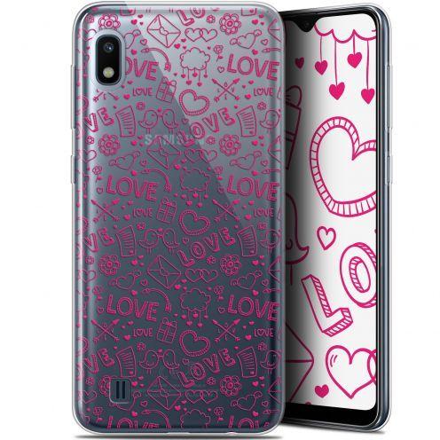"""Coque Gel Samsung Galaxy A10 (6.2"""") Extra Fine Love - Doodle"""