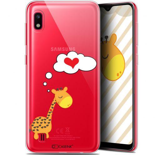 "Coque Gel Samsung Galaxy A10 (6.2"") Extra Fine Love - Girafe Amoureuse"