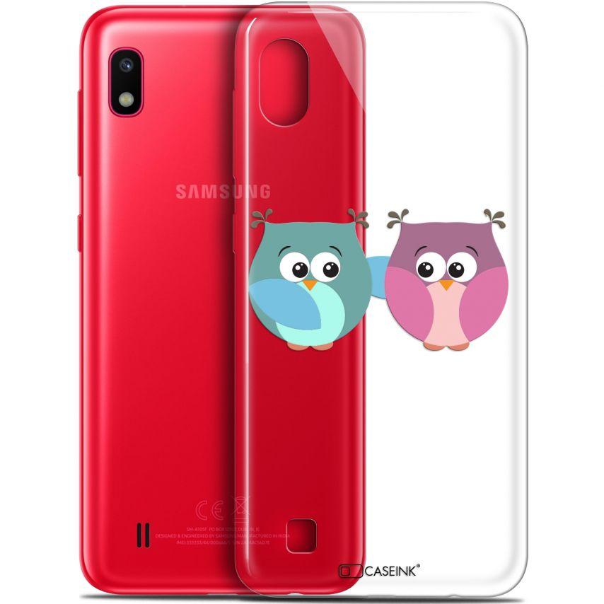 "Coque Gel Samsung Galaxy A10 (6.2"") Extra Fine Love - Hibous à deux"