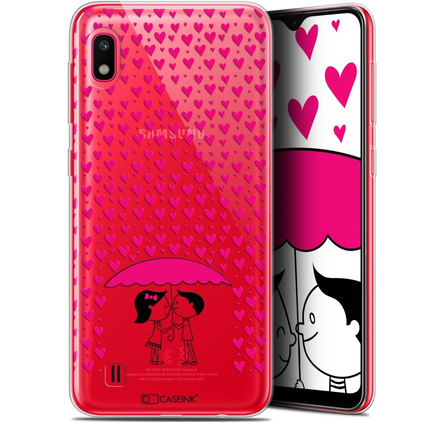 "Coque Gel Samsung Galaxy A10 (6.2"") Extra Fine Love - Pluie d'Amour"
