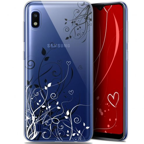 "Coque Gel Samsung Galaxy A10 (6.2"") Extra Fine Love - Hearts Flowers"
