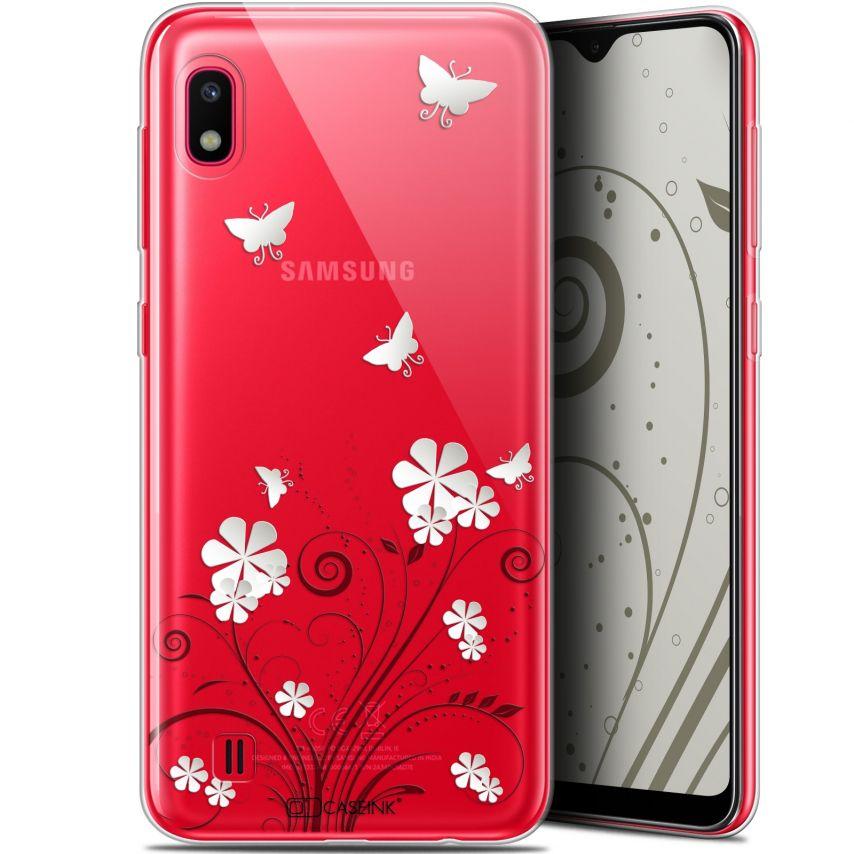 "Coque Gel Samsung Galaxy A10 (6.2"") Extra Fine Summer - Papillons"