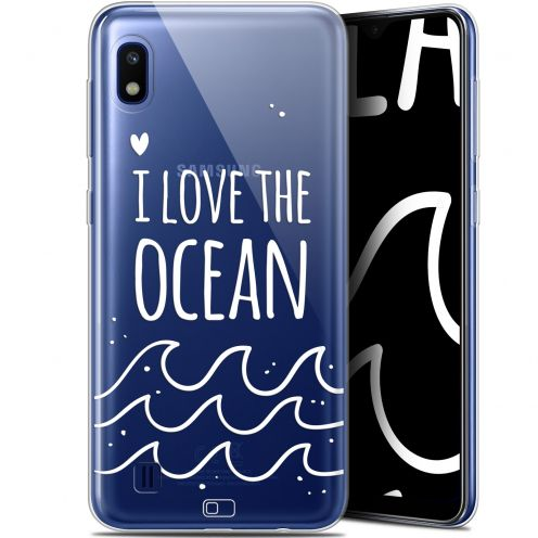 "Coque Gel Samsung Galaxy A10 (6.2"") Extra Fine Summer - I Love Ocean"