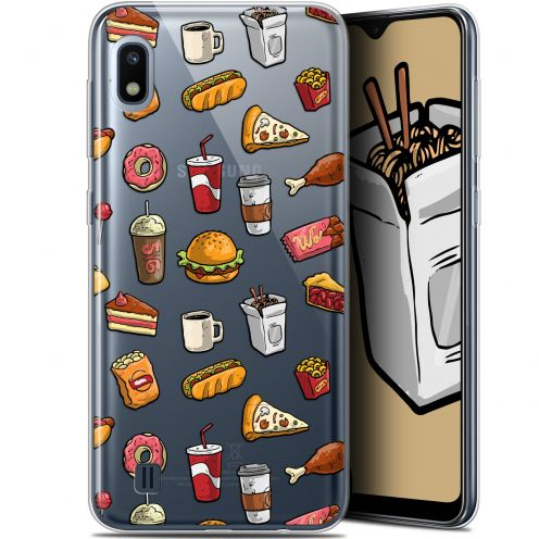 "Coque Gel Samsung Galaxy A10 (6.2"") Extra Fine Foodie - Fast Food"