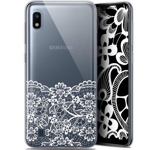 "Coque Gel Samsung Galaxy A10 (6.2"") Extra Fine Spring - Bas dentelle"