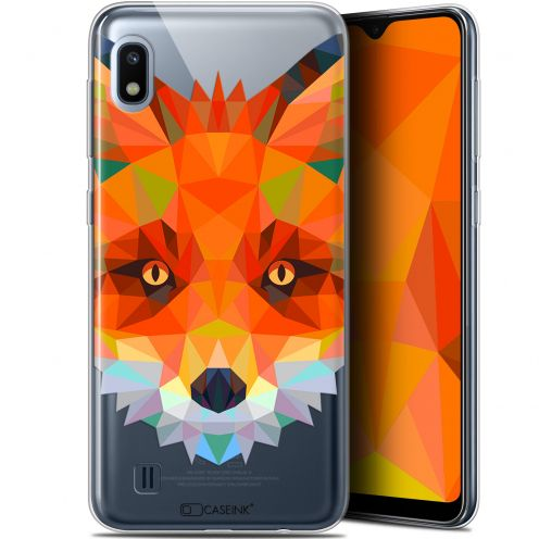"Coque Gel Samsung Galaxy A10 (6.2"") Extra Fine Polygon Animals - Renard"