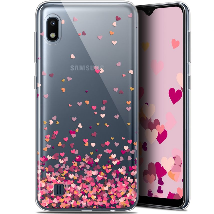 """Coque Gel Samsung Galaxy A10 (6.2"""") Extra Fine Sweetie - Heart Flakes"""