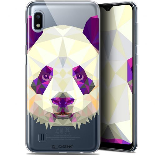 "Coque Gel Samsung Galaxy A10 (6.2"") Extra Fine Polygon Animals - Panda"