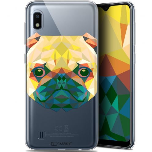 "Coque Gel Samsung Galaxy A10 (6.2"") Extra Fine Polygon Animals - Chien"