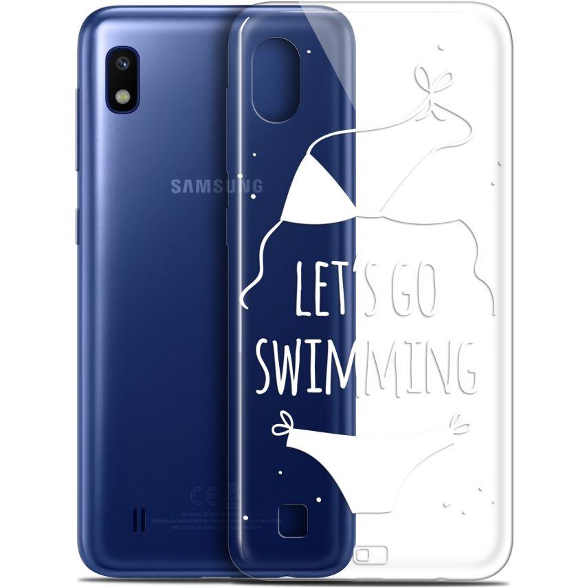 "Coque Gel Samsung Galaxy A10 (6.2"") Extra Fine Summer - Let's Go Swim"