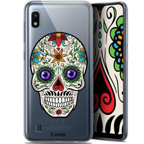 """Coque Gel Samsung Galaxy A10 (6.2"""") Extra Fine Skull - Maria's Flower"""