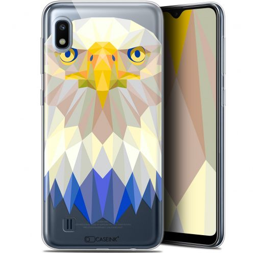 "Coque Gel Samsung Galaxy A10 (6.2"") Extra Fine Polygon Animals - Aigle"