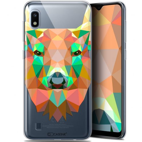 "Coque Gel Samsung Galaxy A10 (6.2"") Extra Fine Polygon Animals - Cerf"