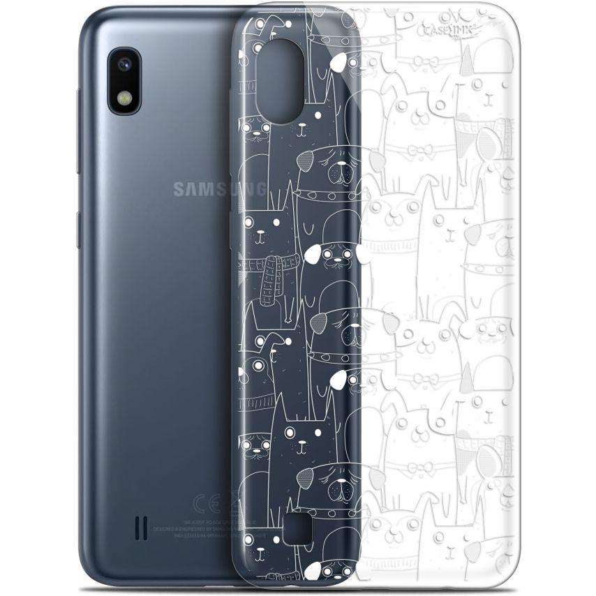 "Coque Gel Samsung Galaxy A10 (6.2"") Extra Fine Motif - Chien Blanc"