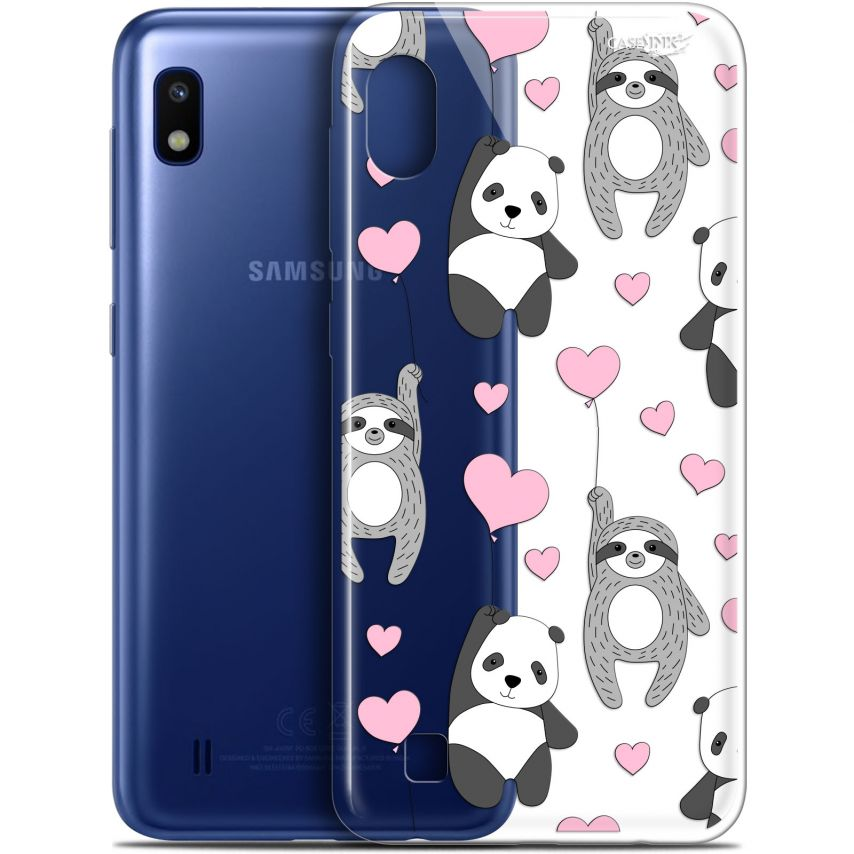 "Coque Gel Samsung Galaxy A10 (6.2"") Extra Fine Motif - Panda'mour"