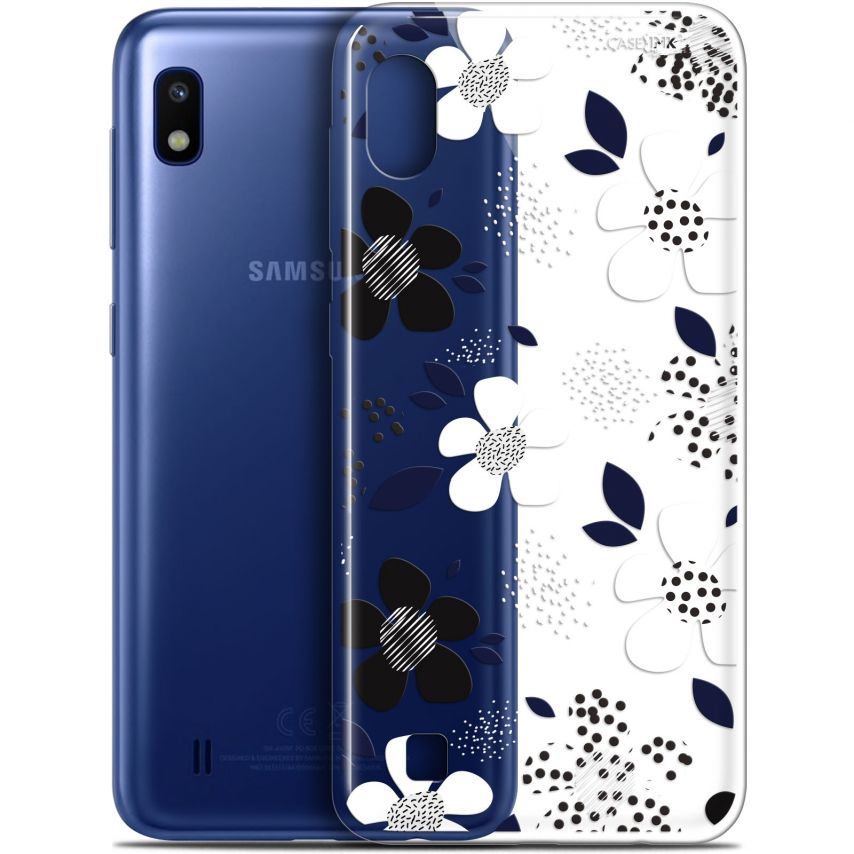 "Coque Gel Samsung Galaxy A10 (6.2"") Extra Fine Motif - Marimeko Style"