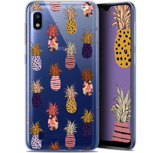 "Coque Gel Samsung Galaxy A10 (6.2"") Extra Fine Motif - Ananas Gold"