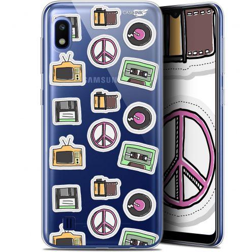 """Coque Gel Samsung Galaxy A10 (6.2"""") Extra Fine Motif - Vintage Stickers"""