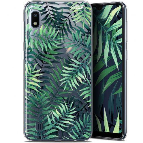 """Coque Gel Samsung Galaxy A10 (6.2"""") Extra Fine Motif - Feuilles des Tropiques"""