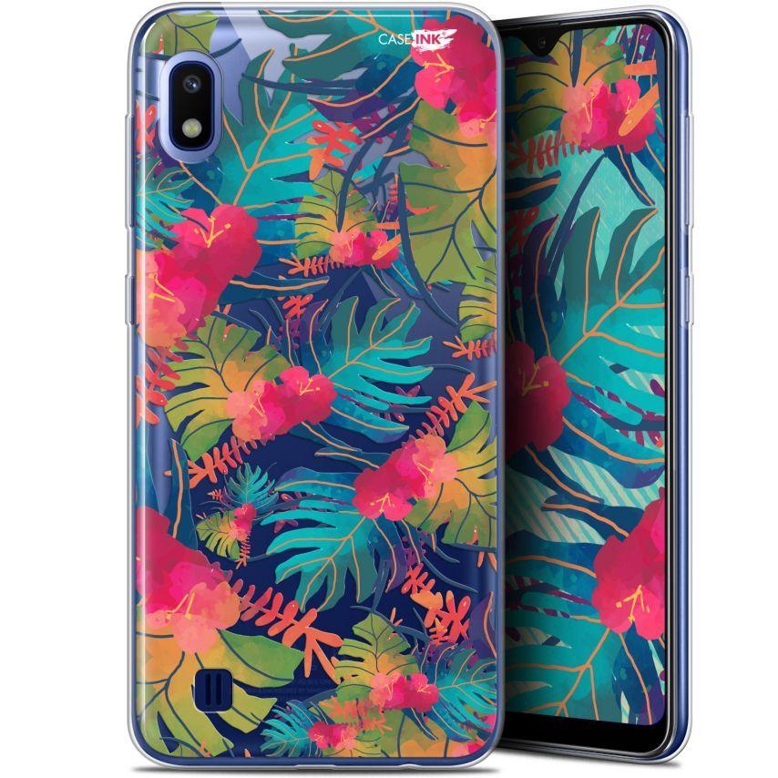 "Coque Gel Samsung Galaxy A10 (6.2"") Extra Fine Motif - Couleurs des Tropiques"